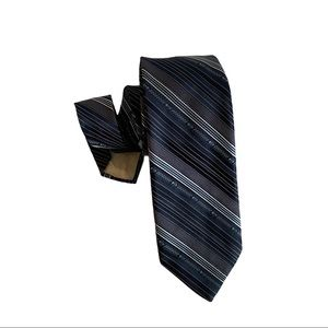 Vtg CHRISTIAN DIOR MONSIEUR Neck Tie Blue Canada